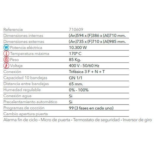Características Regenerador RG 1011 FM