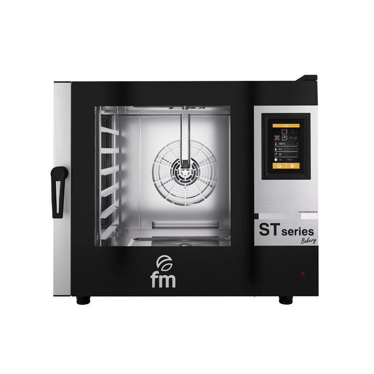 Horno panadería eléctrico STB 606 V7 GAS FM industrial