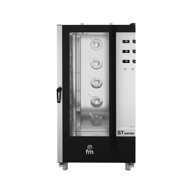 Horno panadería electromecánico STB 616 ET FM industrial